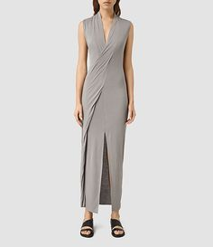 Women's dresses, shop now. Casual Formal Dresses, All Saints, Dresses For Work, Women's Dresses, Shop Now, My Style, Grey, Shopping, Clothes