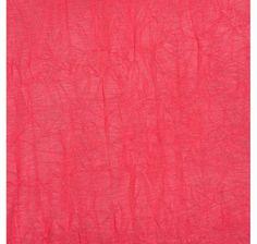 Jersey froissé rouge