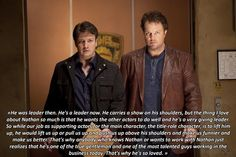 Adam Baldwin talking about working with Nathan Fillion