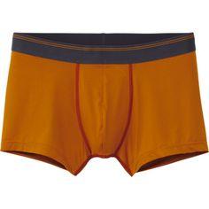 MEN AIRISM LOW RISE BOXER BRIEFS Color: 23 ORANGE Uniqlo Men, Boxer Briefs, Orange, Color, Bolivia, Colour, Boxer Pants, Colors