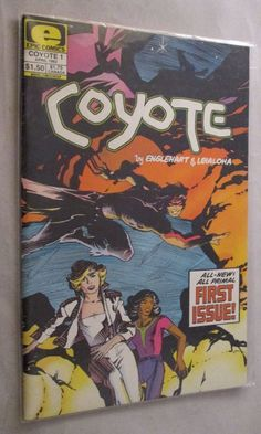 Coyote #1 - #Epic #Comic #Indie #FreeShipping