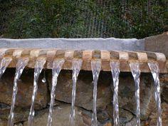Texture, Wood, Crafts, Waterfalls, Rocks, Fountain, Garten, Madeira, Woodwind Instrument