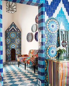 Bohemian Home Decor and Interior Design Ideas: Bohemian interior designs and home decor ideas are all interesting and a trending mode to change the simple beauty of the dreamland into the most exciting one. Bohemian Bedding, Bohemian Bedroom Decor, Bohemian House, Bohemian Room, Modern Bohemian, Boho Dekor, Bohemian Interior Design, Bohemian Furniture, Facades