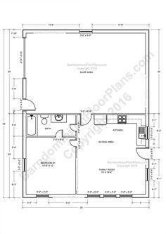 List Of Best Barndominium Floor Plans For Different Purpose Barndominium Barnhomes Tags Ba Barndominium Floor Plans Pole Barn House Plans Barndominium Plans