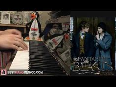 Fantastic Beasts - Newt Says Goodbye To Tina (Piano Cover by Amosdoll)