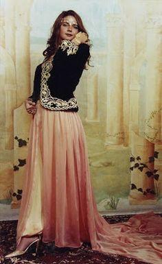 Algerian traditional dress of women.