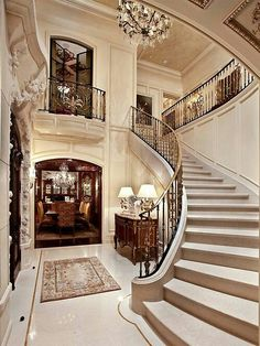 1000 Images About Grand Staircases Foyers On Pinterest Mansions