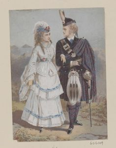 [Princess Louise and John Campbell, 9th Duke of Argyll as Marchioness and Marquess of Lorne]