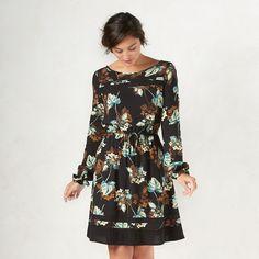 Women's LC Lauren Conrad Floral Dress