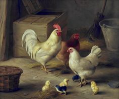 View Edgar Hunt | Chickens & Chicks in Barn at Rowles Fine Art www.rowlesfineart.co.uk2000 × 1683Buscar por imagen Edgar Hunt | Chickens & Chicks in Barn eugenio eduardo zampighi - Buscar con Google