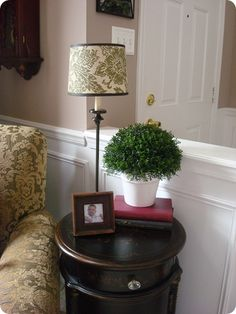 How to make a topiary ball for cheap...love it!