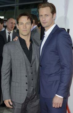 Alexander Skarsgard and Stephen Moyer...Vamps from True Blood VvvV