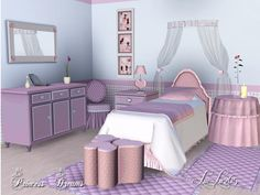 Princess Dreams Bedroom by Lulu265  http://www.thesimsresource.com/downloads/1172752