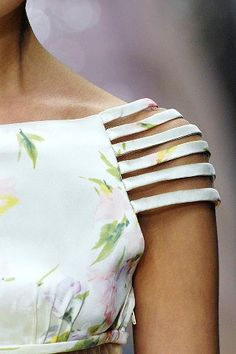 Inspiration - Cut-out sleeves by Valentio (via blog: Sewing by the Seat of my Pants http://sewingbytheseatofmypants.blogspot.co.uk/2012/07/random-inspiration.html#)