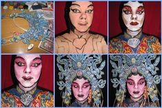 Beijing Opera Star step by step. Beijing, Opera, Stars, Face, Painting, Fictional Characters, Opera House, Painting Art, Sterne