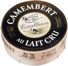 Camembert au lait cru, l'or blanc d'Isigny Sainte-Mère !