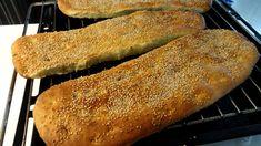 Pretzel Bun, Greek Recipes, Hot Dog Buns, Food And Drink, Sweet, Youtube, Breads, Bagels, Pretzels