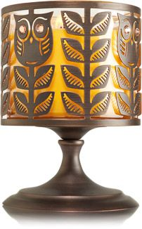 Gem Owl Pedestal 3-Wick Candle Sleeve - Home Fragrance 1037181 - Bath & Body Works