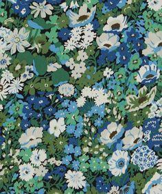 Liberty print Thorpe, tana lawn from the Liberty Art Fabrics collection. Motif Liberty, Liberty Art Fabrics, Liberty Print, Pattern Texture, Surface Pattern Design, Retro Pattern, Pattern Art, Textures Patterns, Print Patterns