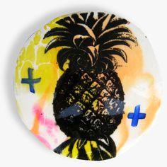 large Piña Pineapple Porthole