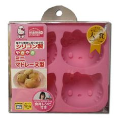 "Hello Kitty Muffin Mold - About this product: If you love baking, here's a great item that will earn you a lot of smiles from your kids and your guests alike. This ""muffin mold"" forms the shape of the one and only Hello Kitty creating delicious and fun looking confections with ease."