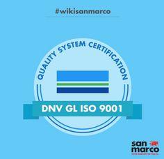 DNV GL è un ente internazionale creato nel 2013 com il compito di certificare le norme di gestione di qualità, tra cui la ISO 9001. -- DNV GL is an international organization created in 2013 with the task of certifying the quality management standards, including ISO 9001. #wikisanmarco #DNVGL