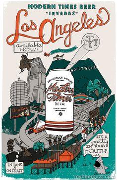 Modern Times Beer Invades Los Angeles, Santa Barbara & Ventura In Jan