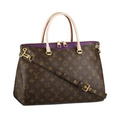 louis vuitton Pallas Shoulder Bags And Totes Amethyste Monogram Canvas M41059 $220.99