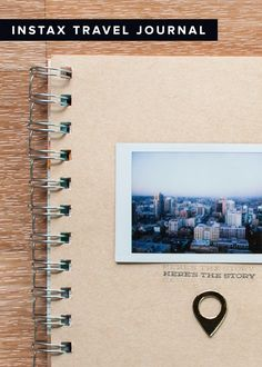 INSTAX Travel Journal - Plus a GIVEAWAY! Enter on the blog by 11:59pm CDT on Tuesday, May 20, 2014