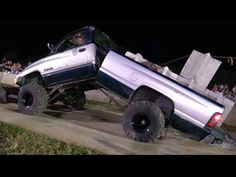 During A Pull Competition This Dodge Ram Diesel Truck Got Bent Right In Half – Voice Of The Man
