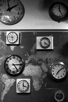 Maps & clocks.  Via From Me To You