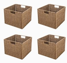 Add fun and functionality to your cube organizer by selecting this Trademark Innovations Foldable Storage Basket with Iron Wire Frame. Wire Basket Storage, Fabric Storage Baskets, Wire Storage, Fabric Bins, Easy Storage, Small Storage, Wicker Baskets With Handles, Metal Baskets, Rattan Basket
