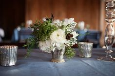 mint julep centerpiece | Courtney Dox #wedding