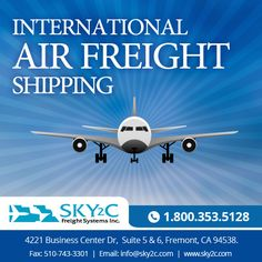 Sky2c Freight System specializes in the International Air Freight Shipping and Moving for #Personal #Goods