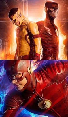 The Flash Season 3 and 4 A new beggining The Flash Season 3, Flash Wallpaper, Seasons, Superhero, Movie Posters, Movies, Fictional Characters, Art, Art Background