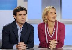 David Pujadas et Laurence Ferrari : prêts à cuisiner Hollande et Sarkozy