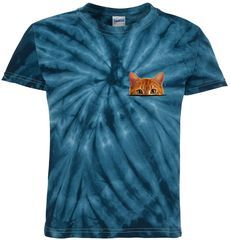 Cat in Pocket Funny Cat Lover Design Tie-Dye T-Shirt for Kids Check out this Cat in Printed Pocket Funny Cat Lover Design that is available on tons of unique styles and colors including t-shirts, hoodies, tanks, ladies, kids, mugs and more. Fast Shipping!