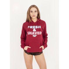Bluza EP.GIRLS Fresh and Shaved bordo