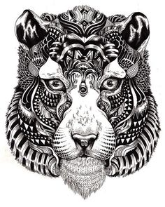 Incredibly Detailed Animal Illustrations - My Modern Metropolis on imgfave