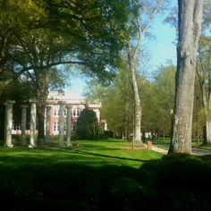 Presbyterian College in Clinton, South Carolina