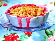 Rhubarb and ginger pie Rhubarb Crumble, Macaroni And Cheese, Pie, Breakfast, Ethnic Recipes, Easy, Desserts, Food, Cookies