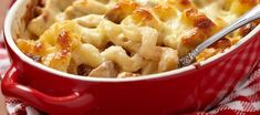 Mac And Cheese - Macaroni Met Kipreepjes Kaas Champignons A La Petra recept | Smulweb.nl