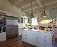 Rústica y moderna: La cocina perfecta (de Celeste)