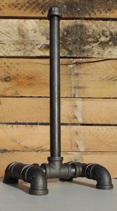 Industrial Paper Towel Holder Pipe Paper Towel by cmhomedecor1
