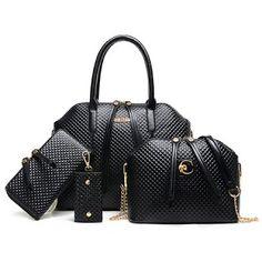Trendy Embossed Design Women s Tote Bag, Cross-body Bag,  amp  Wallet Womens 516546681b