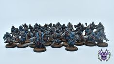Thousand sons (Tzeentch) - Chaos Cultists #ChaoticColors #commissionpainting #paintingcommission #painting #miniatures #paintingminiatures #wargaming #Miniaturepainting #Tabletopgames #Wargaming #Scalemodel #Miniatures #art #creative #photooftheday #hobby #paintingwarhammer #Warhammerpainting #warhammer #wh #gamesworkshop #gw #Warhammer40k #Warhammer40000 #Wh40k #40K #chaos #warhammerchaos #warhammer40k #tzeentch #thousandsons #cultist Thousand Sons, Warhammer 40000, Tabletop Games, Hiking Boots, Miniatures, Gw, Studio, Creative, Painting