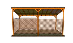 How to build a lean to carport | HowToSpecialist - How to Build, Step by Step DIY Plans