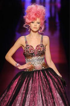 Jean Paul Gaultier Haute Couture.