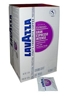 Lavazza Gran Espresso Intenso Single Dose Pods Pack of 150 >>> This is an Amazon Associate's Pin. View the item in details on Amazon website by clicking the image