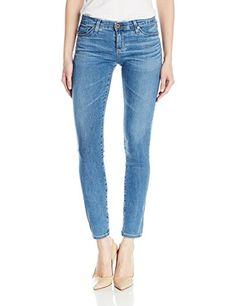 AG Adriano Goldschmied Womens the Stilt Cigarette Jeans Hiatus 26 *** Want to know more, click on the image. #Sweaters
